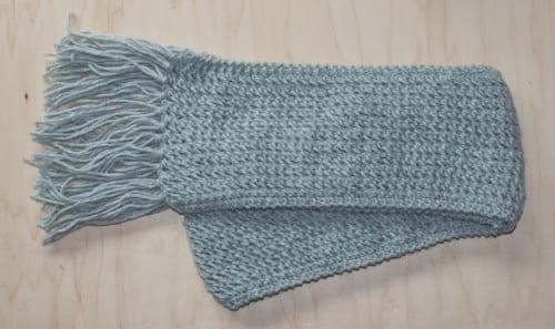 simple scarf pattern